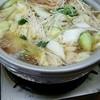 海鮮ろばたうおいち - 料理写真:カニ、海老、サザエ、牛肉、豚肉、鶏肉、鳥団子等々が入った寄せ鍋