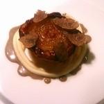 マンサルヴァ - 小玉葱とゴルゴンゾーラのキャラメルタルト トリュフの芳香