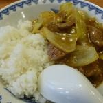 33589851 - 「咖喱牛肉飯 」(牛ヒレ肉の中華風カレーライス)
