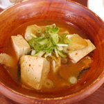 美味創菜 京とうふ 衣の郷 - お豆腐のチゲ