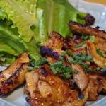 オーセンティック - 日向鶏のライムリーフ焼き