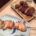 焼鶏館 - ヤゲン串&レバー