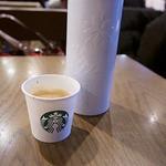 スターバックス・コーヒー - 注文待ちの間に試飲をいただきました。
