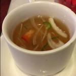スター苑 - ピラフに付くスープ