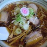 中華そば あきん亭 - あきん麺 大盛り 850円