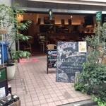 高田馬場1丁目バル ウルスラ - 暖かい日はテラスで食事も!