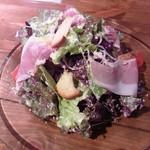 キッチン&バル アイユート - セットの生ハムシーザーサラダ