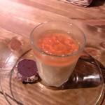 キッチン&バル アイユート - プチデザート:紅茶のブラマンジェ