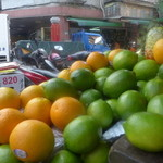 迪化街金桔檸檬 - 青々とした檸檬は、臺湾の人たちの大好物。
