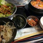 33596959 - 海鮮スンドゥブと炭火焼丼