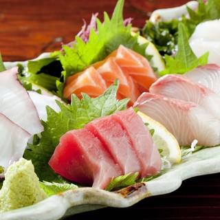 厳選した鮮魚の数々