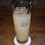 マドリード - パエリアランチ グレープフルーツジュース