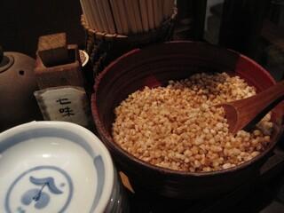 板蕎麦 山灯香 - 蕎麦米