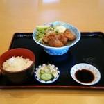 黒潮亭 - 料理写真:唐揚げ定食 1058円