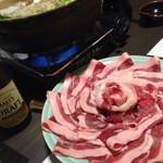 鍋と旬菜と京料理 花柳 - 牡丹鍋( ̄Д ̄)ノ