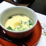 居食家 寿 - <5500円コース>茶碗蒸し
