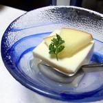 居食家 寿 - <5500円コース>豆腐ムース