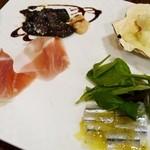 センプリチェ - 季節の前菜 4種盛り合わせ