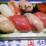 角上魚類 - にぎり8貫 ¥864-