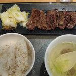 伊達の牛たん本舗 - 極厚芯タン定食