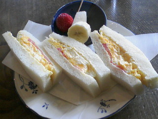 カフェ・バール こうべっこ - モーニング¥500(珈琲付き)
