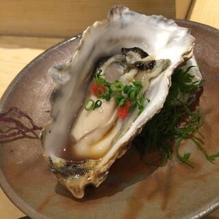 阿部 広尾別館 - 生牡蠣(厚岸産)2014年12月