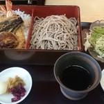住吉 - 海老野菜天丼セット