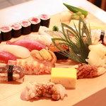 すし屋の芳勘 - 料理写真:にぎり
