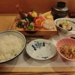 銀八鮨 - 料理写真:上刺身定食