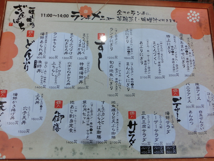 銀八鮨 渋沢駅前店