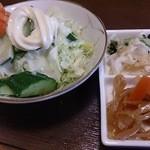 つくば屋 - サラダと箸休め