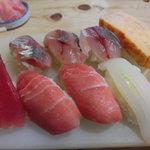 一五鮨 - 料理写真:ふつうのすし