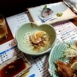 瑠玖&魚平 - ホタテバターとしめ鯖
