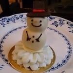 ウルトラジャム - チョコレートケーキ雪だるま!!