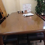 和韓食処はやしや - 4名テーブル席