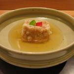 日本料理 太月 - 26年12月 胡麻豆腐の揚げ出し