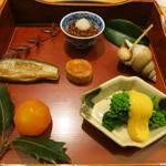 日本料理 太月 - 26年12月 前菜6種