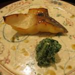日本料理 太月 - 26年12月 九州マナガツオもろみ焼き