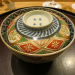 日本料理 太月 - 26年12月 炊き合わせの器 江戸後期古伊万里