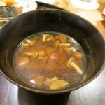日本料理 太月 - 26年12月 ナメコ味噌汁