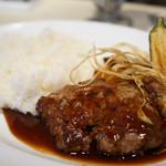 クラフトマン - ランチの仙台牛ハンバーグ
