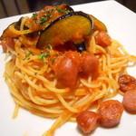 PICO - 揚げナスとサルシッチャのトマトソース