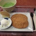おまんじゅう三津森 - ありま和ッフルと抹茶