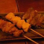 3363174 - 宴会料理 焼き鳥3種