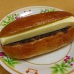 パン工房マローネ - あんバター…税込180円