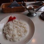 トラヤ - スパイスカレー(辛口)
