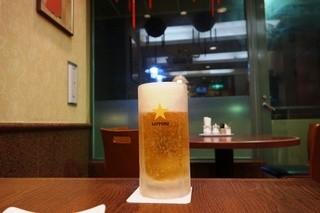 中国料理あんり 小金店 - 生ビール350円