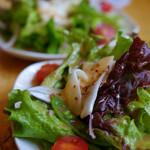 ヨシダゴハン - セットのサラダ