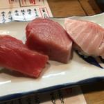 立ち寿司 まぐろ一徹 - まぐろ三昧 600円