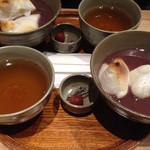 赤福茶屋 - 赤福ぜんざい¥550
